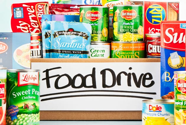 Movie Night/Food Drive – December 7