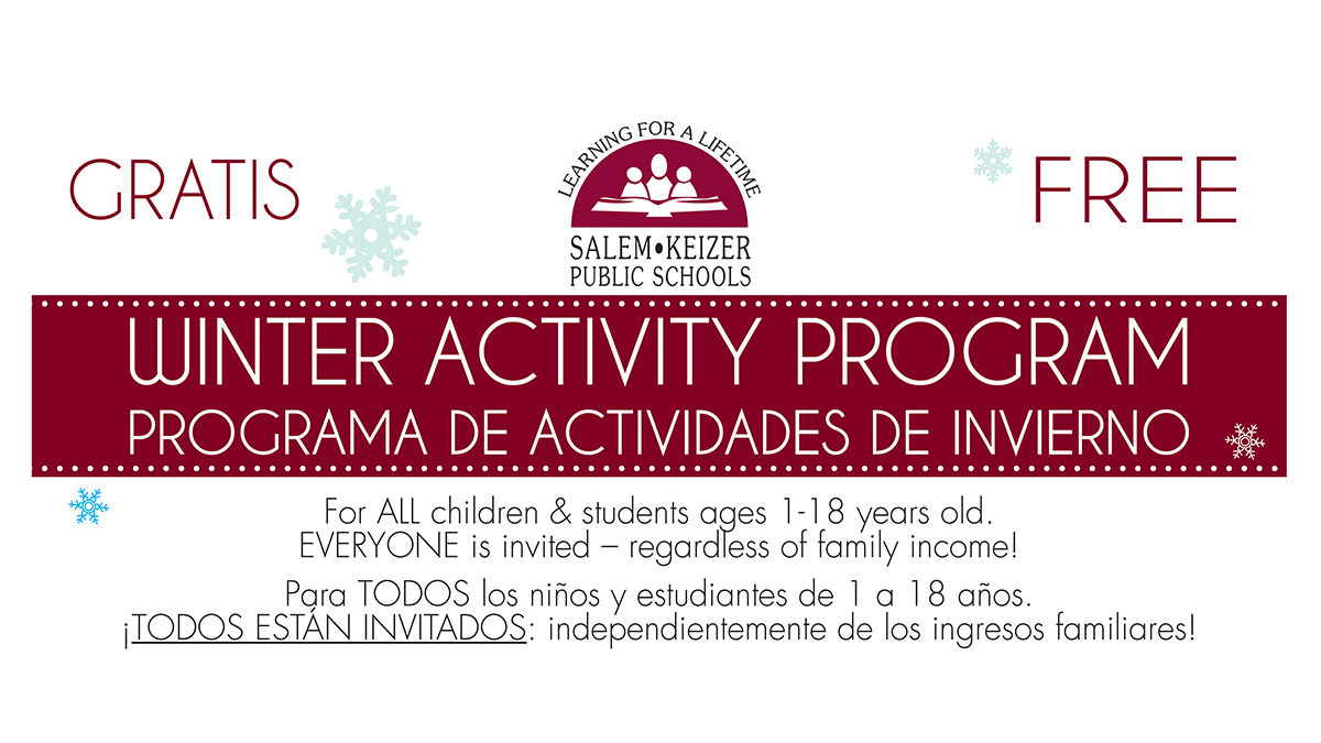 Winter Activity Program | PROGRAMA DE ACTIVIDADES DE INVIERNO