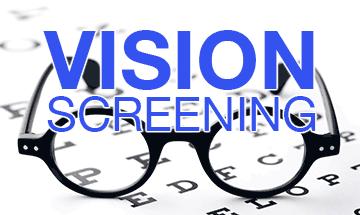 Vision Screening – April 1