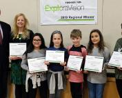 Lee Elementary School ExploraVision Regional Champions 2019