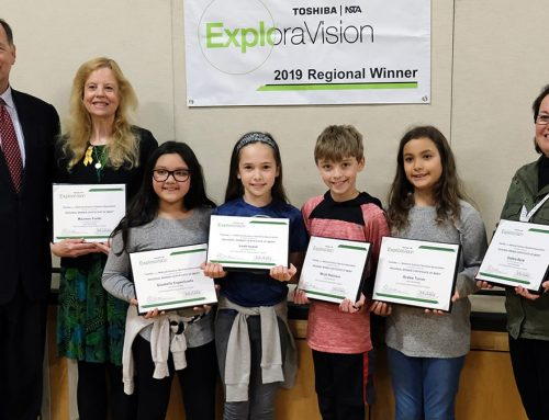 Lee Elementary Students Win Regional Science Award from Toshiba/NSTA ExploraVision