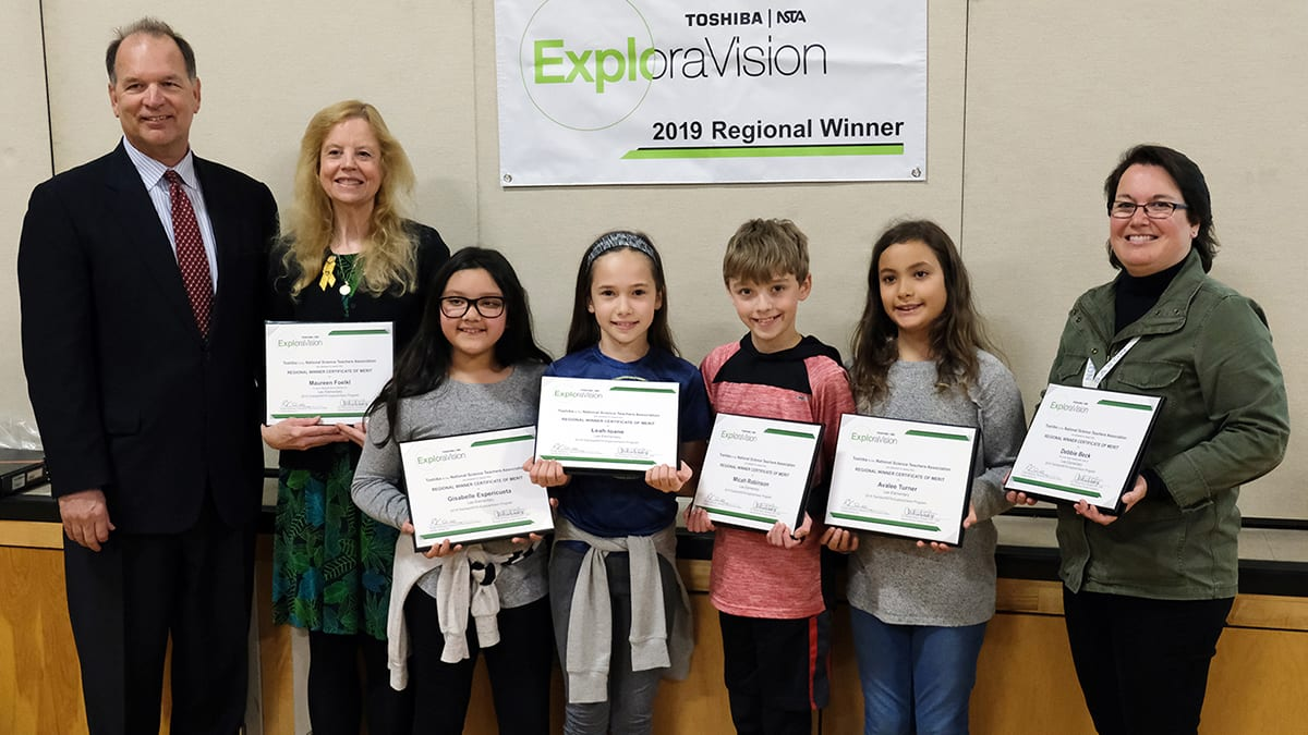 Lee Student Exploravision Winners Featured In Statesman Journal!!