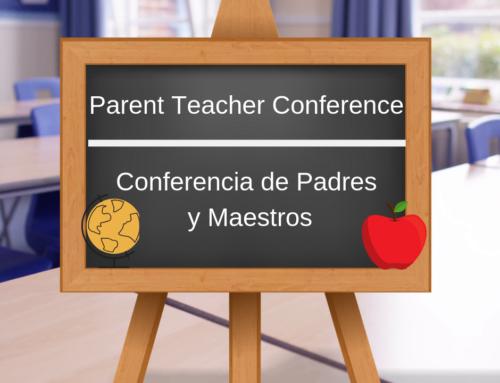 Fall Conferences – Conferencias de otoño